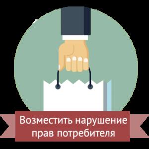 защита прав потребителей, защита прав в области торговли, туристических услуг и другие услуги